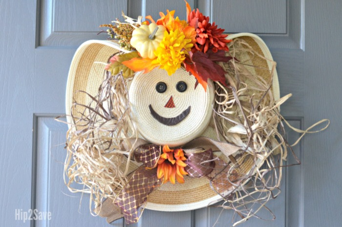 make-a-scarecrow-wreath-from-a-hat