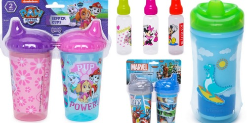 Kids' Drinkware Items Starting at $2 (Save on Dr. Brown's, Fisher-Price, Marvel Characters & More!)