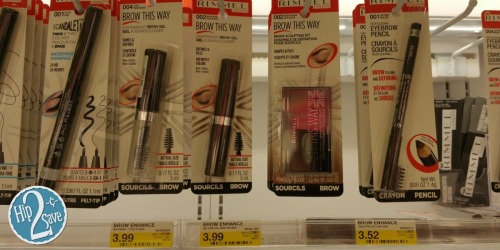 New $1/1 Rimmel Beauty Item Coupon = Cosmetics Starting at Just 52¢ at Target