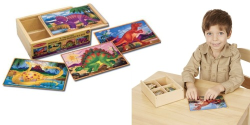 Amazon: 30% Off Melissa & Doug Puzzles = Dinosaur Puzzles in a Box Only $7.94