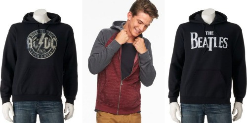 Kohl's Cardholders: Men's Hoodies Only $15.11 Each Shipped (Regularly Up To $60)