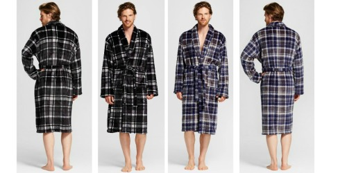 Target: Men's Plush Robe Only $12.48 (Regularly $24.99)