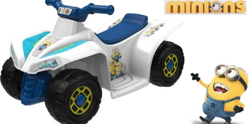 Walmart.com: Minions 6-Volt Battery-Powered Ride-On ONLY $39 (Regularly $79)