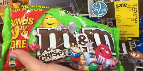 Another NEW $1.50/2 M&M'S Brand Chocolate Candies Coupon = Just $1.75 Each at Walgreens
