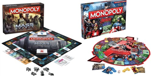 Gamestop: Monopoly Special Edition Games as Low as $9.97