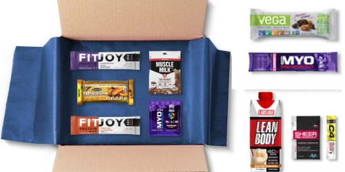 Amazon Prime Members: Sports Nutrition Sample Box Just $9.99 AND Score $9.99 Credit