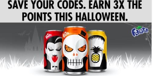 My Coke Rewards: Triple Bonus Points on Fanta (October 31st)