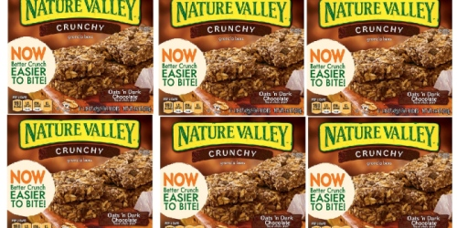 Amazon: Nature Valley Crunchy Granola Bars ONLY $1.62 Shipped Per Box
