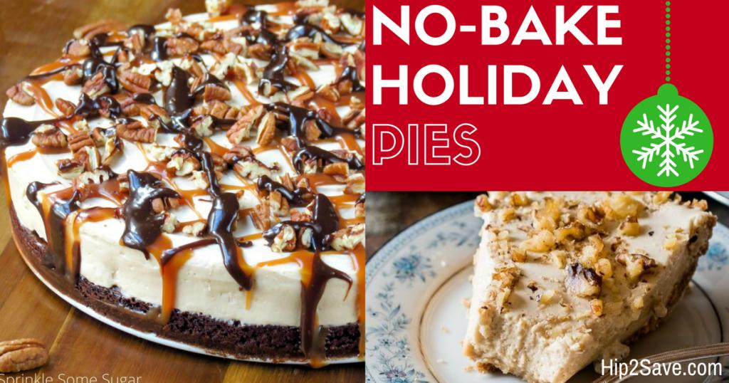 No-Bake Holiday Pies