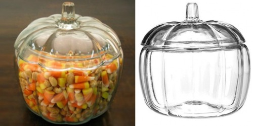 Oneida 85% Off Clearance Sale: Anchor Hocking Large Glass Pumpkin Jar Only $7.19 & More