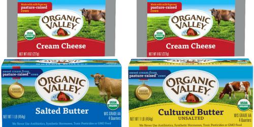 Target: Nice Savings on Organic Valley Butter & Cream Cheese