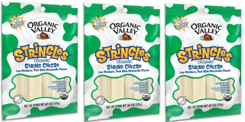 Target: Organic Valley String Cheese 6 Pack Only $1.20