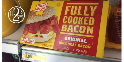 Target: Oscar Mayer Fully Cooked Bacon Only $1.99