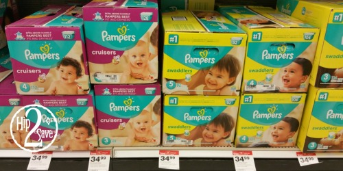 Target: Stock up on Pampers Diapers