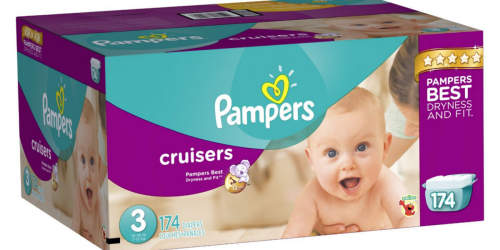 Amazon Family Members: Pampers Cruisers Size 3 Diapers 174-Count Only $24.19 Shipped
