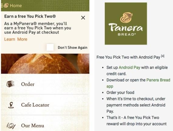 MyPanera Members: FREE You Pick Two Reward w/ $10 Purchase