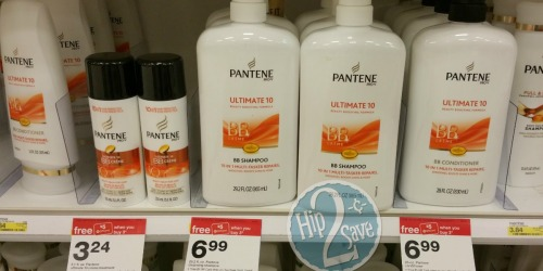 Target: Better Than FREE Pantene Ultimate 10 BB Creme (After Target Gift Cards)