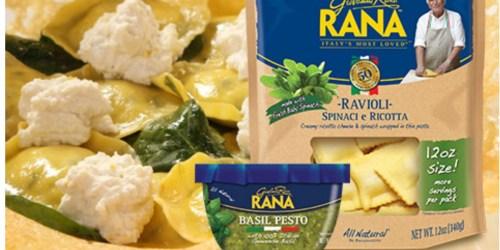 New $1/1 Giovanni Rana Sauce & Pasta Coupons
