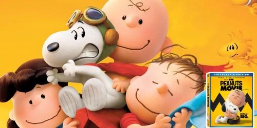 The Peanuts Movie Blu-Ray + DVD + Digital HD Only $9.99 (Regularly $29.99)