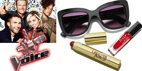 People Shop: The Voice Gift Box $15.99 Shipped ($84 Value) – Includes Nail Polish, Lip Pencil & Sunglasses