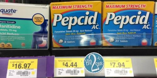 Walmart: Pepcid AC Maximum Strength Only 44¢