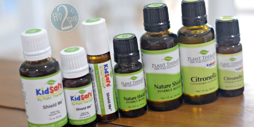 Plant Therapy Sale + Extra 20% Off = Big Savings on Citronella, Nature Shield & Shield Me Essential Oils