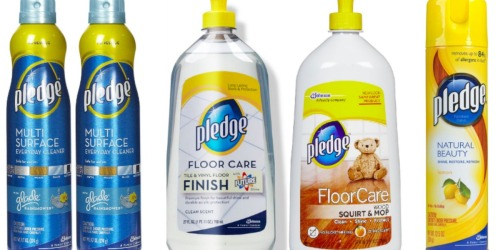 *HOT* $2/1 Pledge Product Coupon = Cleaning Products Only 93¢ at Target