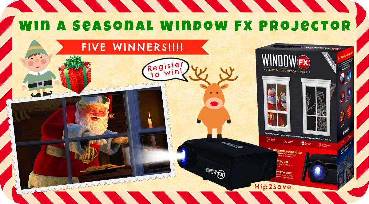 Hip2Save Giveaway Seasona Projector