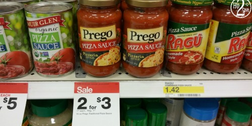 NEW Prego Coupon = Pizza Sauce Only $1 at Target & More