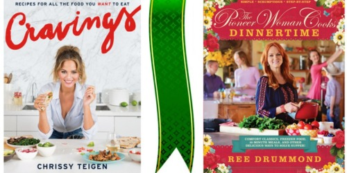 Barnes & Noble: Popular Cookbooks Only $14.25 Each (Pioneer Woman, Cravings & More!)