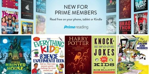 Amazon Prime Reading: Members NOW Read Free Books, Magazines, Comics, Kindle Singles & More
