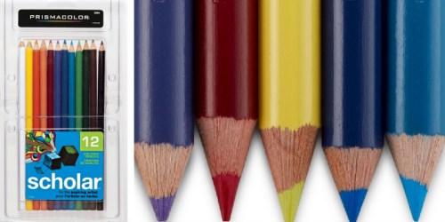 Target Cartwheel: 50% Off Prismacolor Coloring Pencils = 12 Pack ONLY $4.50