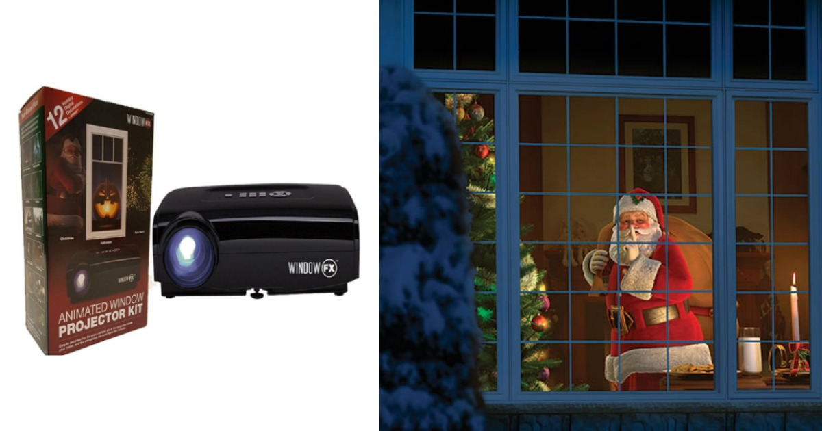 Seasonal Fx Projector Animated Window Display Kit 69 Shipped My Hubby Is In Love Hip2save