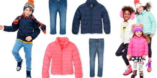 The Children's Place: Puffer Jackets Only $19.99 Shipped, Jeans Only $7.99 Shipped + More