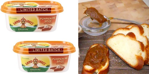 New $0.75/1 LAND O LAKES Pumpkin Pie Spice Butter Spread Coupon