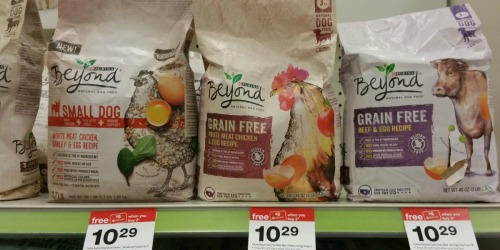 Target: Two FREE Purina Beyond Dry Dog Food Bags (After Gift Card) + New Pet Food Coupons