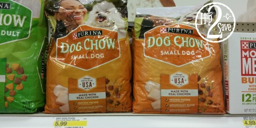 NEW $2/1 Purina Dog Chow Coupon = Only $2.99 at Target (After Ibotta)