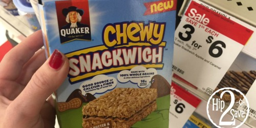 Target: Quaker Chewy Bars Only 97¢ Per Box (After Checkout51)