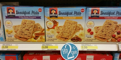 Target: Lots of NEW Grocery Cartwheel Offers = 36¢ Quaker Breakfast Flats, 61¢ Fruity Pebbles Cereal…