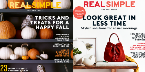 Real Simple Magazine Subscription ONLY $9.99