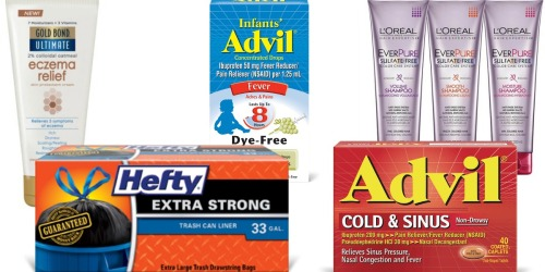 New RedPlum Coupons (Save On Gold Bond, L'Oreal, Hefty & More)