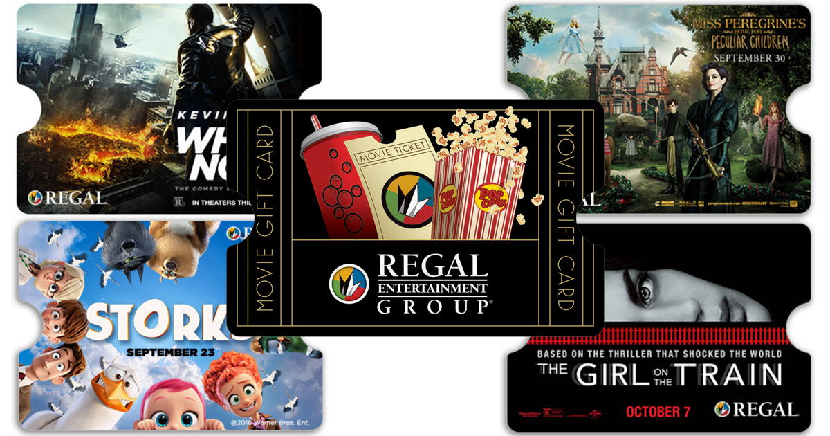 regal cinemas buy 50 egift card free 15 concessions promo card today only hip2save. Black Bedroom Furniture Sets. Home Design Ideas