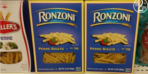 Super Target: Ronzoni Pasta ONLY 70¢ (Regularly $1.24)