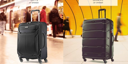 Samsonite.com: Select Spinner Luggage Just $79.99-$109.99 (Regularly Up to $229.95)
