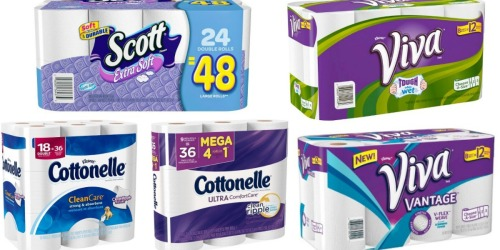 Target.com: Awesome Deals On Scott, Cottonelle and Viva Products (After Gift Card)