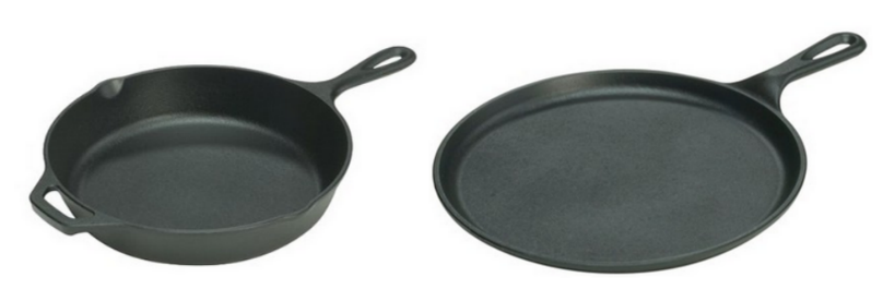 Nice Buys on Lodge Cast Iron Skillets & Griddles - Hip2Save