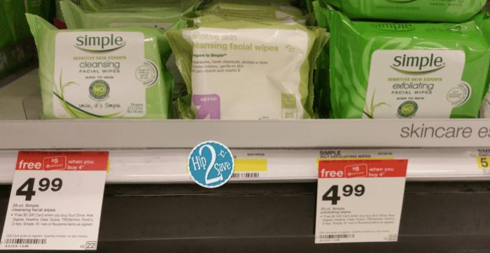 Target Simple Wipes