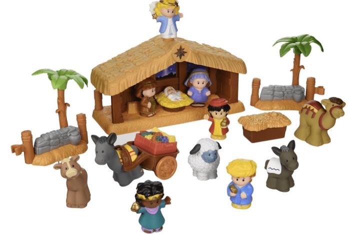 Amazon Little People Nativity