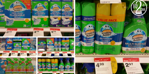 Three *NEW* Scrubbing Bubbles Coupons = Great Deals at Target