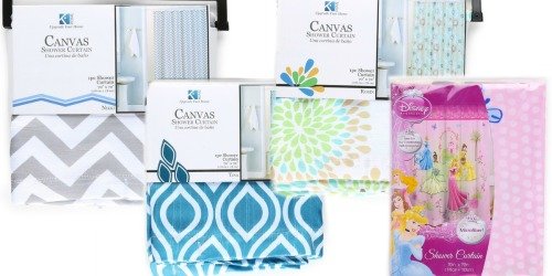 Hollar.com: Shower Curtains Only $2 -$5 (Regularly up to $14)